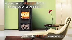Poele Mixte Bois Et Granulés : po le bois ou granul s sans lectricit comme po le ~ Melissatoandfro.com Idées de Décoration