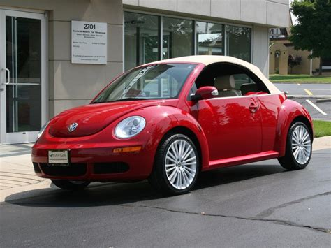 red volkswagen convertible 2006 volkswagen beetle convertible