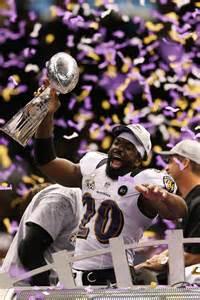 Ed Reed Super Bowl Trophy