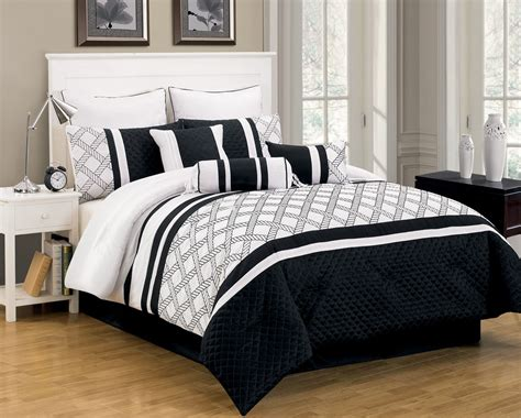 black and white comforter sets justbats coupons valid