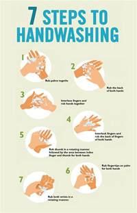 Proper Hand Washing Steps