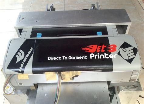 Mesin Dtg Epson jual mesin cetak kaos dtg epson 1390 a3 second di lapak