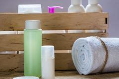productos de higiene personal foto de archivo imagen de