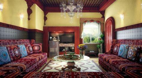 der marokkanische stil  orientalische wohnraeume