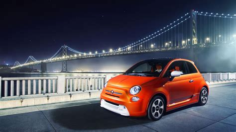 Fiat Wallpapers by 2014 Fiat 500e Wallpaper Hd Car Wallpapers Id 3185