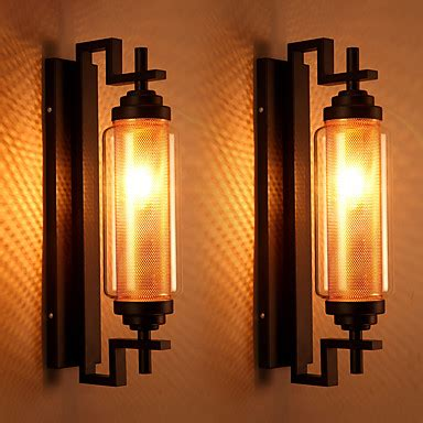 retro wall lights bedroom vintage loft american style retro glass wall l bedroom