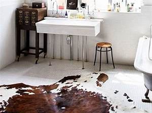 Tapis Salle De Bain Original : 15 id es d co pour une jolie salle de bains elle d coration ~ Teatrodelosmanantiales.com Idées de Décoration