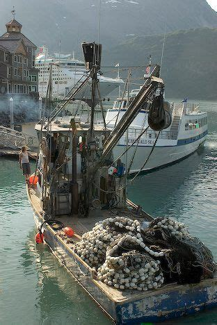 fishing boat whittier harbour alaska food north