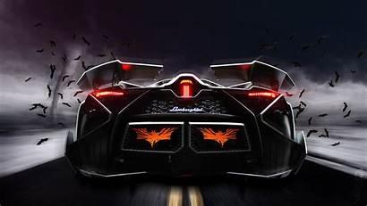 Lamborghini Egoista Concept Rear Supercar Concepto Fondos