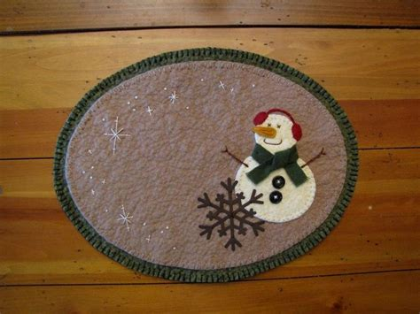 397 best candle mats images on felt
