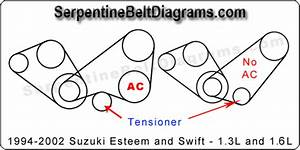 2001 Suzuki Esteem Belt Diagram Wiring Schematic