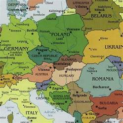 Central Europe and Northern Eurasia Map