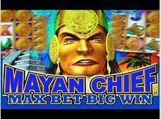 Mayan Chief MAX BET! Slot Machine Bonus BIG WIN