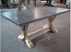 zinc table top, indestructible for kids Home Pinterest
