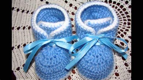 botitas a crohet para recien nacido botitas tejidas a