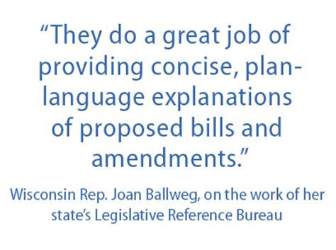 wisconsin legislative reference bureau wisconsin is the nation 39 s pioneer in providing nonpartisan