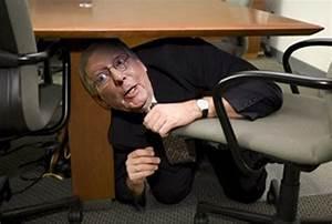 Scared Sen. McConnell Hides Under Desk After Initiating ...