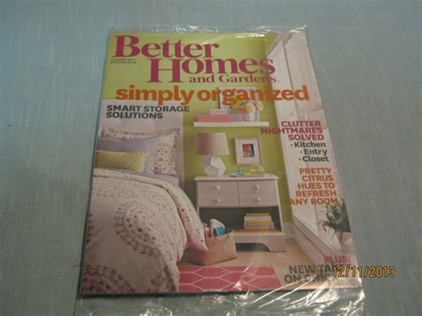 better homes and gardens magazine january 2014 simply