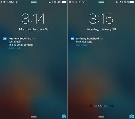 how to see notifications on iphone how to hide text messages email notification previews