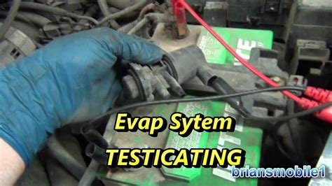evap leak testing p p youtube