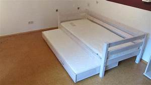 Bett Weiß 90x200 Ausziehbar : flexa bett ausziehbar in mattwei in rheinzabern kinder jugendzimmer kaufen und verkaufen ~ Indierocktalk.com Haus und Dekorationen