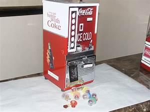 Vintage toy soda machines