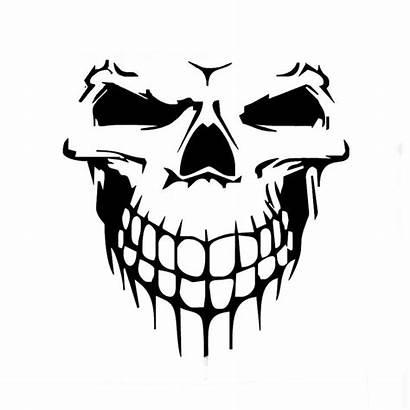 Vinyl Skull Decal Sticker Truck Hood Graphic