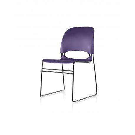 chaise limerick herman miller avec patin pour