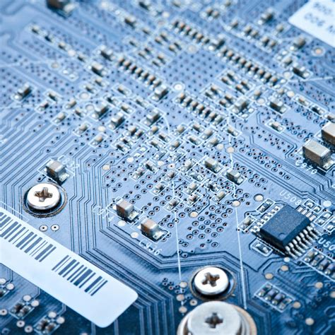 Electronic Lab Stock Image Board Electrical