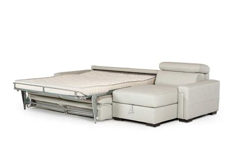 leather sectional sleeper sofa leather sectional sofa with sleeper vg360 leather sectionals