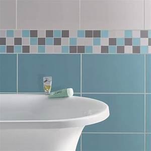 carrelage mural turquoise obasinccom With carrelage bleu turquoise salle de bain