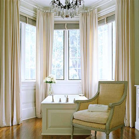Bow Window Curtains Ideas  Bow Window Treatments And How