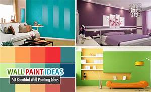 Beautiful wall painting ideas and designs for living