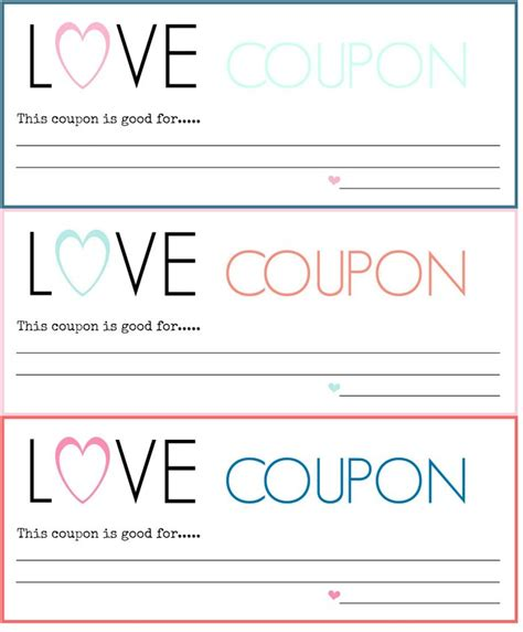 love coupon template microsoft diy coupons free printable a blossoming
