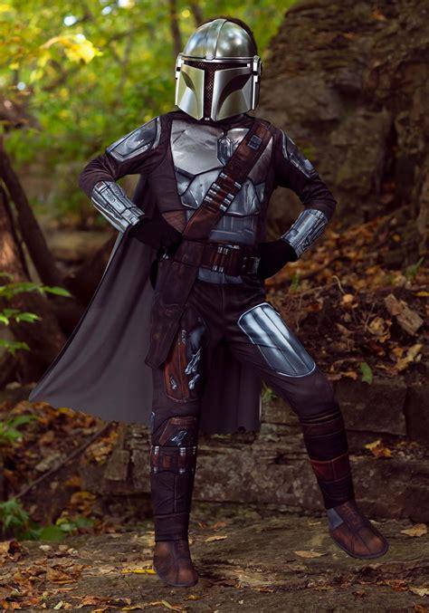 Mandalorian Beskar Armor Costume for Kids