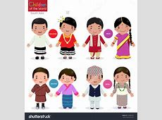 National costume clipart Clipart Collection Vector set