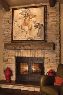 Rustic Fireplace Mantel Designs