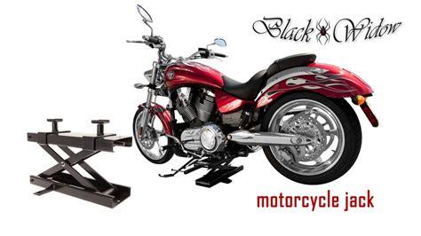 Black Widow Motorcycle Lift Jack