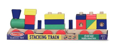 melissa and doug train table instructions stacking train toy