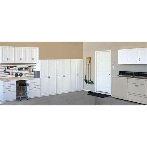 closetmaid garage shelves closetmaid 71 75 in h x 36 in w x 18 625 in d laminated