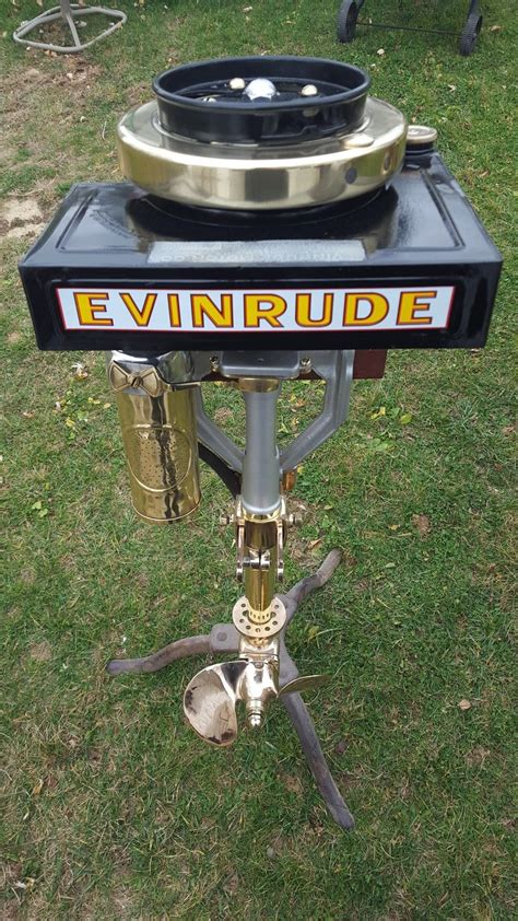 Row Boat Engine by 1917 Evinrude Row Boat Motor Rbm Antique Outboard Boat