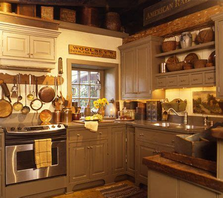 Best 571 Primitive Kitchens Images On Pinterest Home