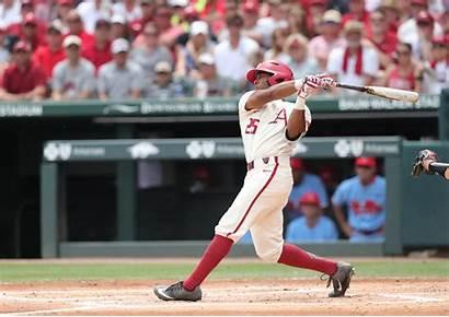 Arkansas Baseball Entering Answer Christian Franklin
