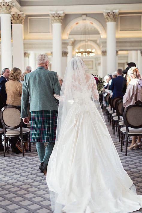 gorgeous fall scotland wedding modwedding