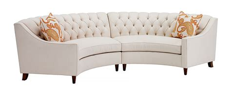Curved Loveseat Sofa by The Curved Sofa Portland Furniture