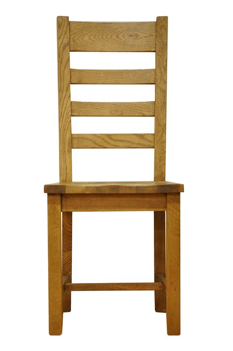dining chairs stanton ladderback rustic oak dining chair