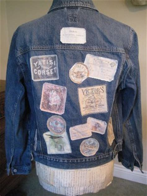 craft project cool patches  vintage labels
