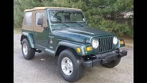1999 Jeep Wrangler Tj Sahara Edition 4x4