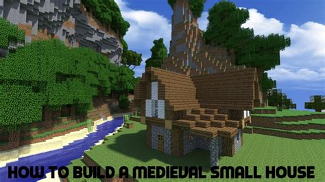 minecraft tutorial   build  medieval small house youtube