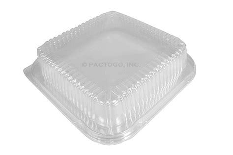 durable dome lid   square cake foil pan cs foil